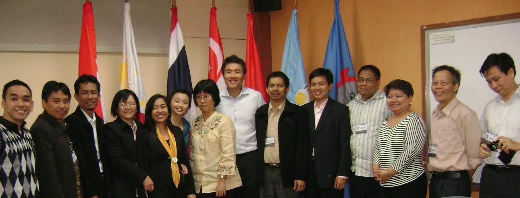 Saat penutupan workshop ICT di manila