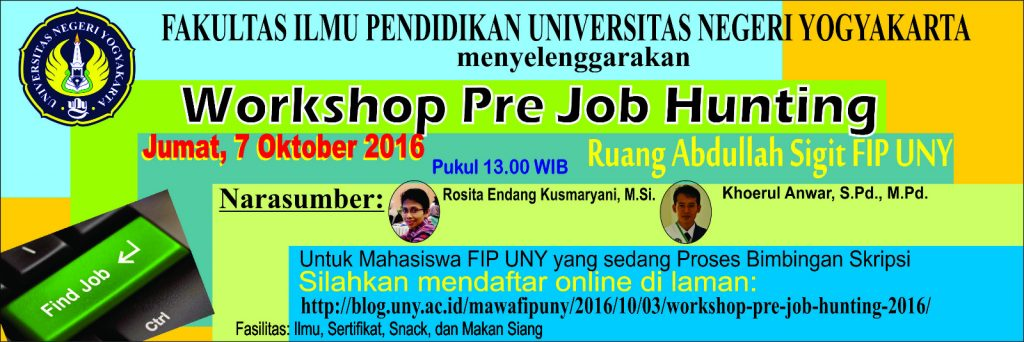 Workshop PreJob Hunting 2016